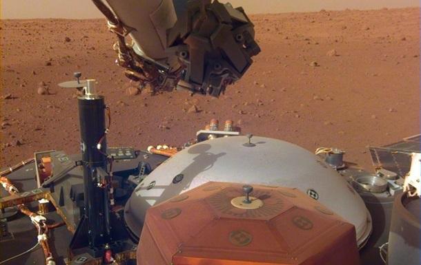 Аппарат InSight впервые пробурил поверхность Марса