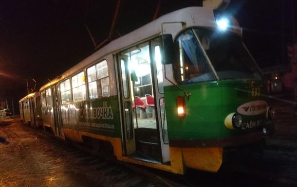 В Харькове трамвай сбил насмерть пешехода