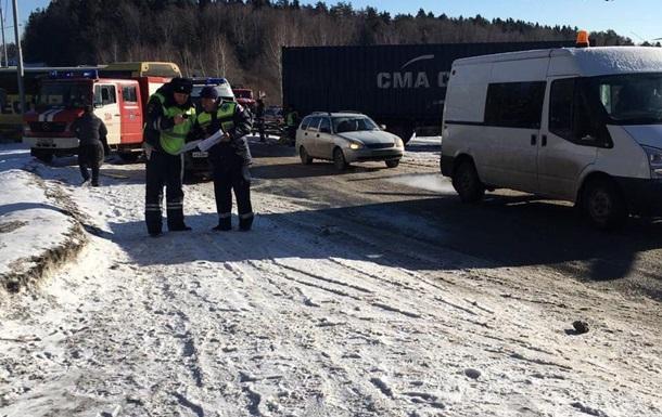 Под Москвой в ДТП пострадали четыре украинца