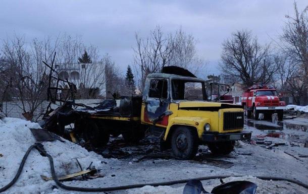 У Харкові вибух знищив автомобіль, є жертви
