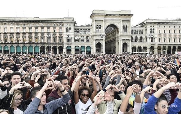 На марш проти расизму вийшли 200 тисяч італійців