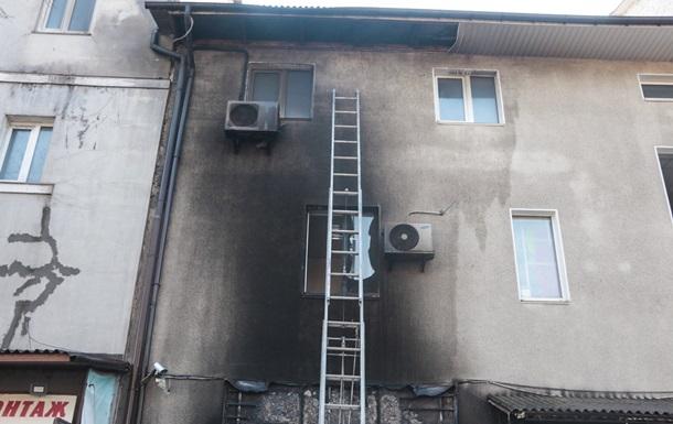У Києві сталася пожежа на СТО