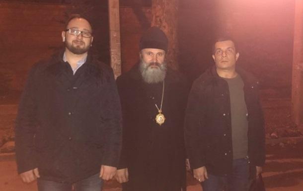 Затриманого в Криму архієпископа ПЦУ відпустили