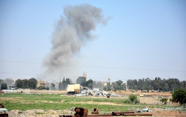 СМИ в Сирии сообщили об авиаударе коалиции США