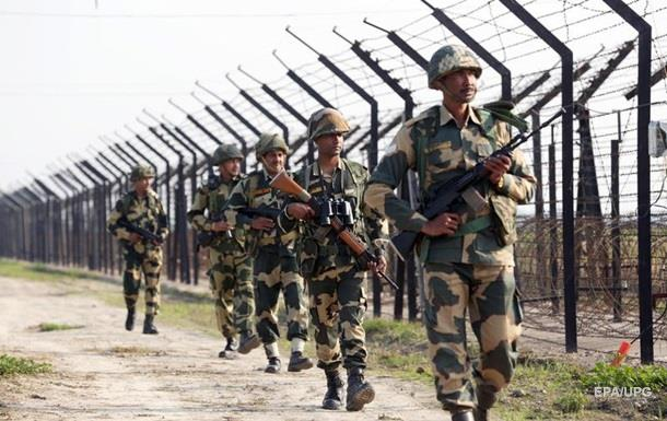 На кордоні Індії і Пакистану сталася тригодинна перестрілка