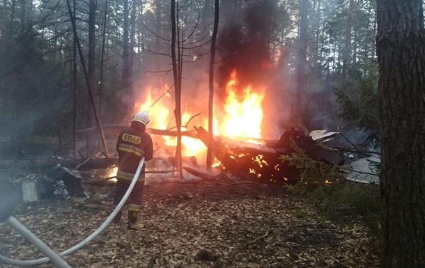 В Польше разбился военный самолет