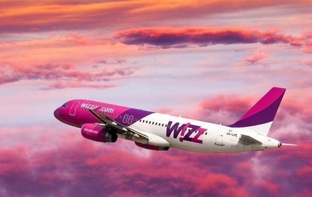 Wizz Air запустив чотири нові рейси з України до Європи