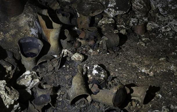 В Мексике найдена пещера с тысячелетними артефактами майя
