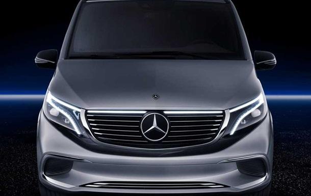 Mercedes представив мінівен нульовим рівнем викидів