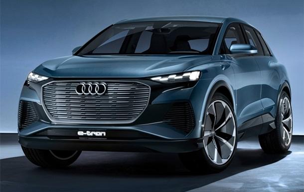 У Женеві дебютував електрокар Audi Q4 e-tron