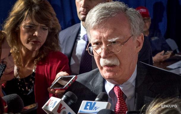 США готовы ужесточить санкции против КНДР − Болтон