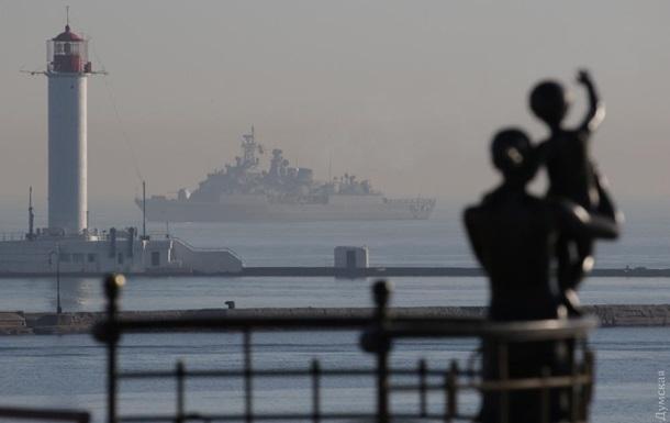 В Одесу зайшли два військові кораблі Туреччини