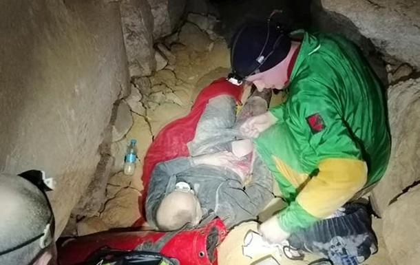 В катакомбах Одессы произошел обвал, пострадал спелеолог