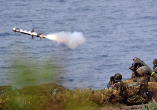 Редкий Javelin долетит до середины Керченского пролива