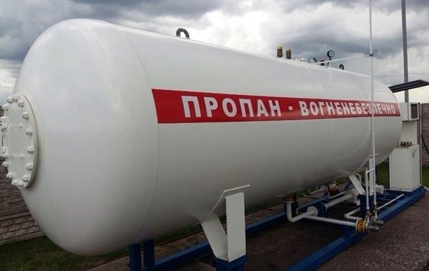 На заправках Украины дорожает газ