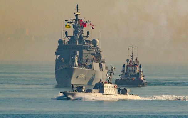У берегов Одессы прошли учения Украины и Турции