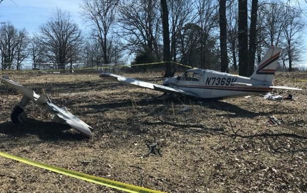 Легкомоторний літак розбився в США