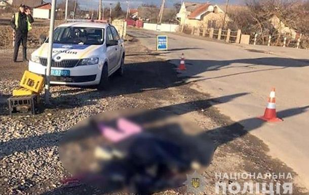 На Прикарпатье маршрутка сбила насмерть женщину