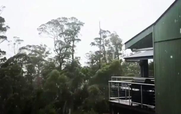 Австралію замітає снігом