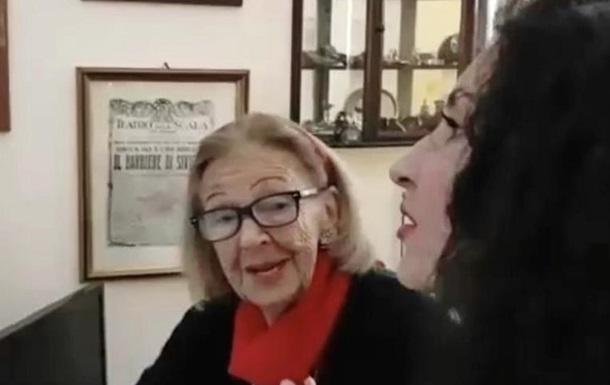 Херсонская оперная певица Лейла Шерзай встретилась в Риме с внучкой Шаляпина