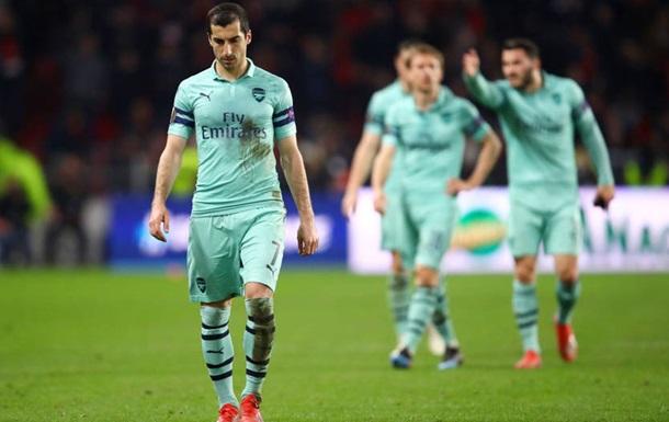 Арсенал сенсационно проиграл Ренну в первом матче 1/8 финала ЛЕ