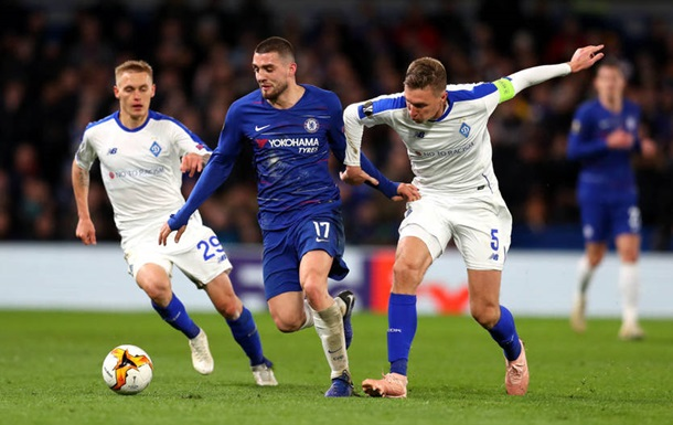 Динамо потерпело разгромное поражение от Челси
