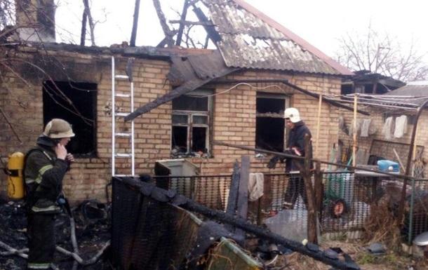 Пожежа під Києвом забрала життя двох дітей