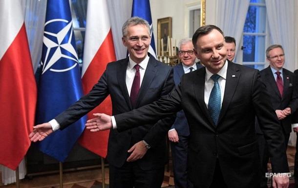 Дуда и Столтенберг обсудили ситуацию в Черном море