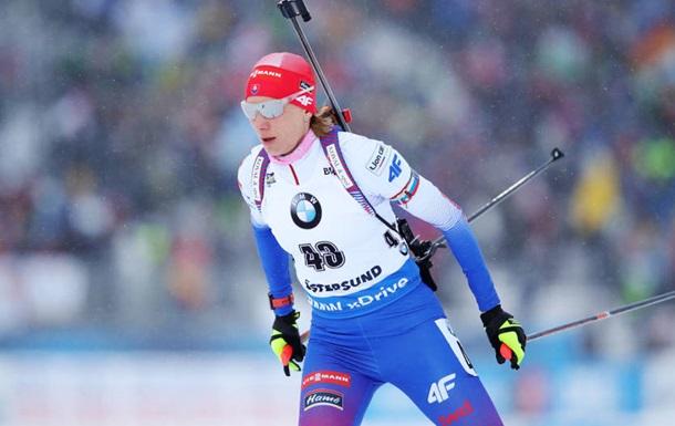 Биатлон: Кузьмина стала чемпионкой мира в спринте, две украинки в топ-30