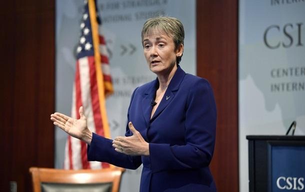 Міністр ВПС США йде у відставку