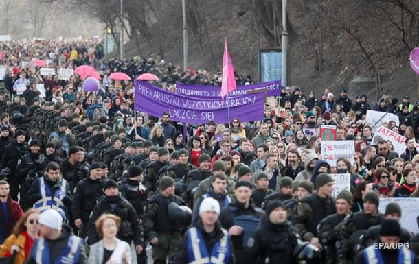 Итоги 08.03: Марш за права женщин и жуткое ДТП