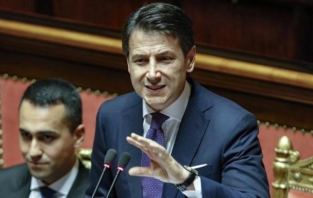 Італія працює над відміною антиросійських санкцій