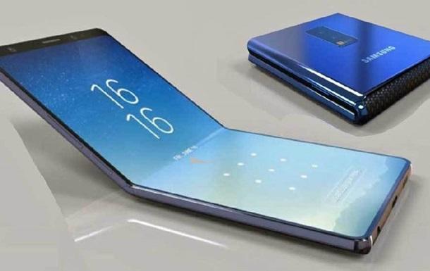 Раскрыт дизайн новой  раскладушки  Samsung