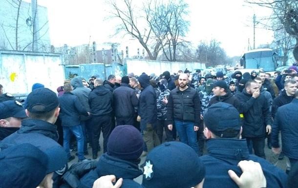 Активисты Нацкорпуса попали на сайт Миротворец