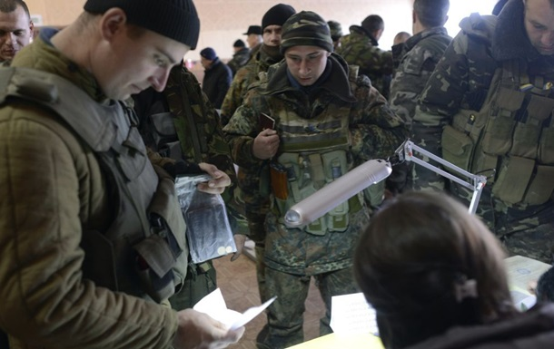 Військовим в зону ООС не привезуть урни для голосування