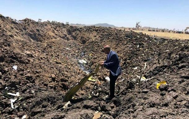 В Ефіопії знайшли чорні ящики Boeing, що розбився