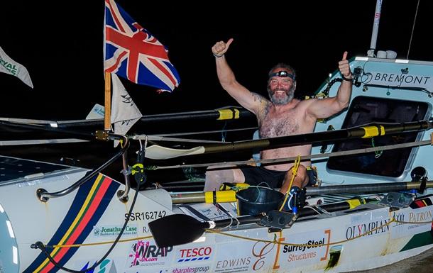 Британець без ноги перетнув Атлантичний океан на човні і встановив світовий рекорд