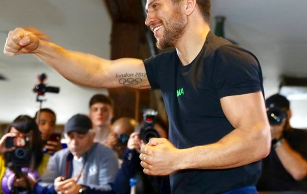 Ломаченко провел открытую тренировку