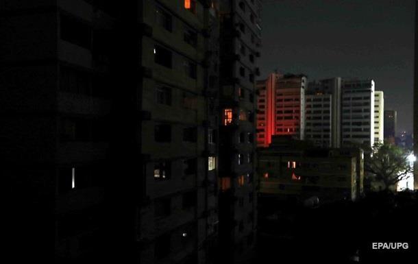 В Венесуэле почти полностью восстановили электроснабжение