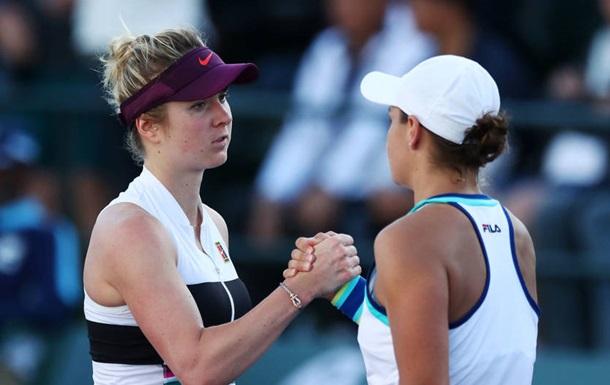 Світоліна і Барті в Індіан-Уеллсі видали найдовший матч року у WTA-турі