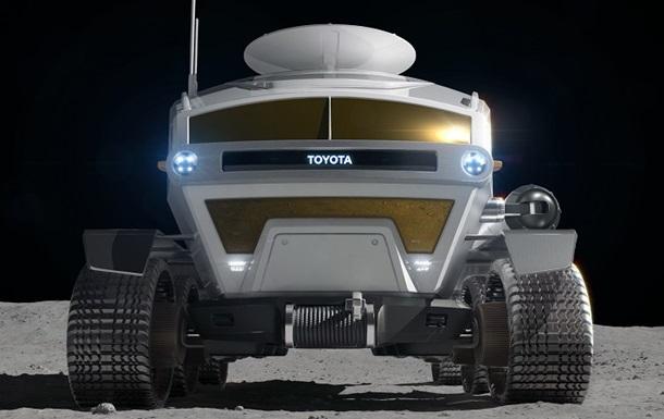 Toyota показала концепт  автомобіля  для Місяця