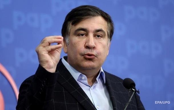 Саакашвілі показав квиток в Україну на 1 квітня