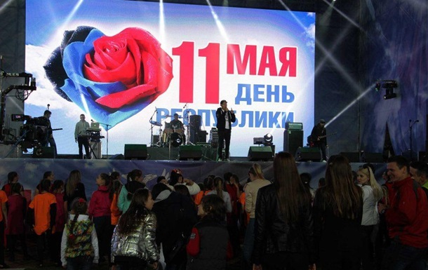 Газманов в ДНР провалился под сцену. Видео!