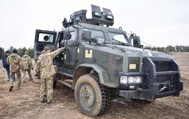 В Украине испытали бронеавтомобиль Козак-2
