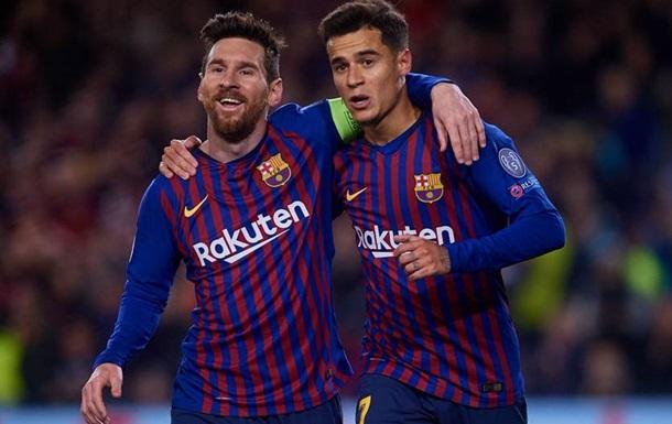 Барселона пройшла Ліон у Лізі чемпіонів, змусивши фанатів понервувати