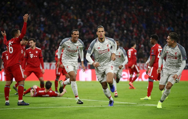 баварія – ліверпуль Photo: Ліверпуль у Мюнхені здолав Баварію