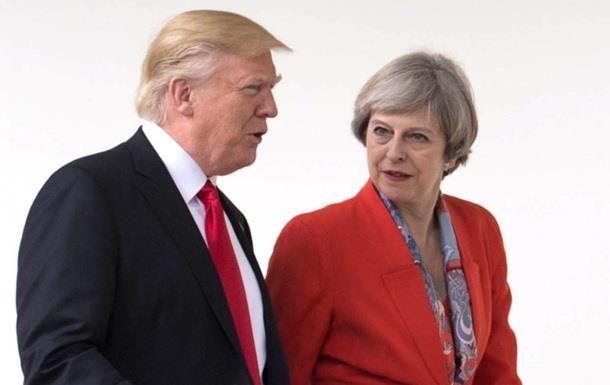 Мей проігнорувала мої поради з ведення переговорів про Brexit - Трамп