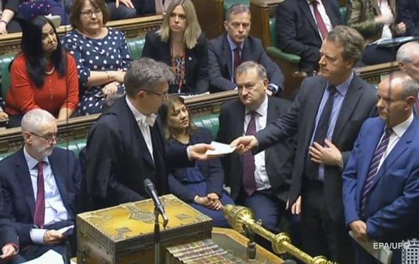Парламент Британії переніс дату Brexit