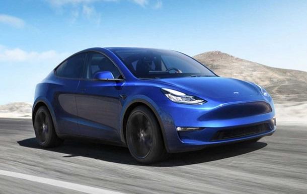Tesla презентовала кроссовер Model Y