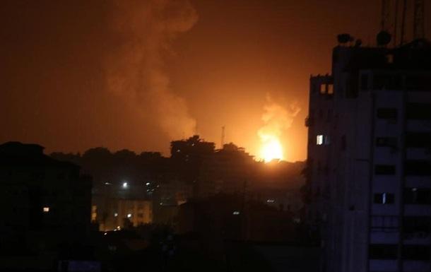 Ізраїль відповів ударом на ракетний обстріл з Сектора Гази